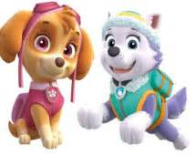 Skye and everest paw patrol digital download instant download diy