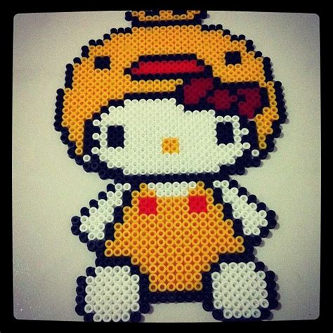 perler bead hello hello perler by funwithbeadz needle crafts