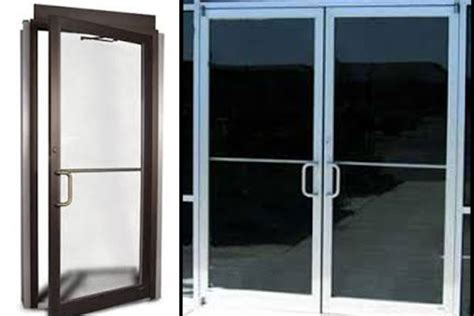 Commercial Aluminum Glass Doors Commercial Door Repair Commercial Glass Door Replacement