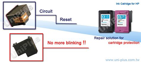 hp ink resetter third party brand refillable ink cartridge auto reset chip