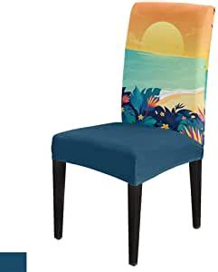 amazoncom summer sea theme  pack chair covers stretch