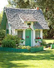 Cute Little House by Paper Scissors And Superheroes Little House With A Green