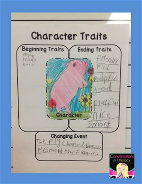 picture books for character traits character traits change time beg end of book with