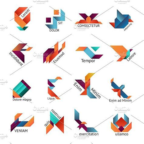 Origami Graphic - 11 beautiful origami logo designs design trends
