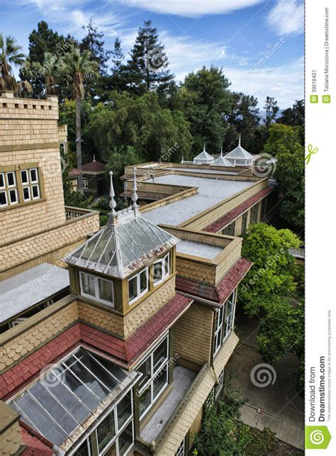 design elements san jose blvd the winchester mystery house stock photo image 39018407