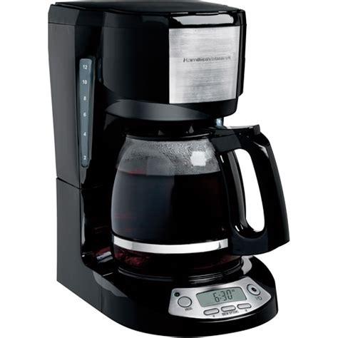 Black & Decker 8 Cup Thermal Programmable Coffee Maker, Stainless Steel and Black   Walmart.com