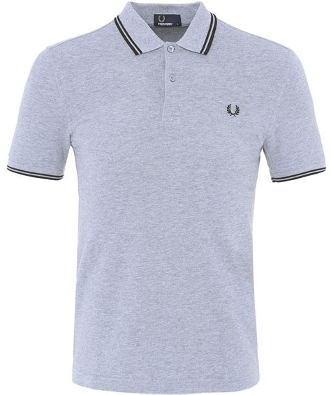 Fred Perry Slim Low fred perry slim fit tipped polo shirt jules b