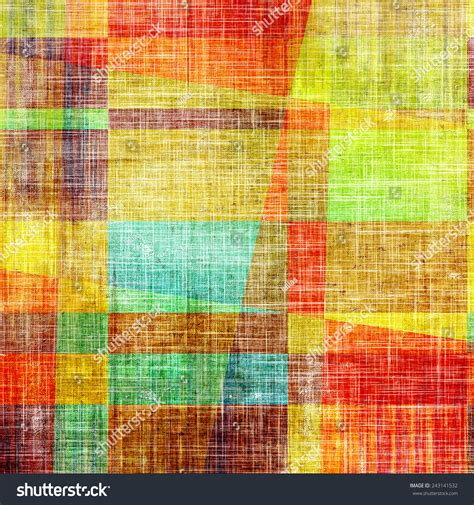 pattern green red brown red blue grunge texture distressed background different color stock