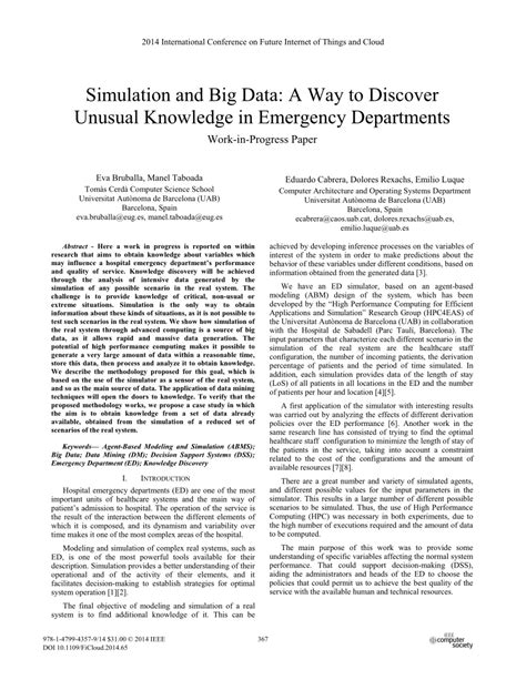 ieee research paper on big data ieee research paper on big data simulation and big data a