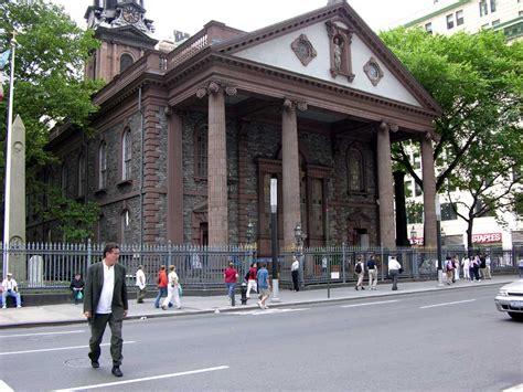 church in new york near ground zero