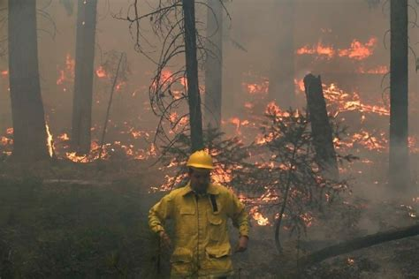 Is Near The Edge Experts Say by California Wildfire Was Years In Experts Say Las