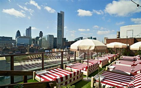 hotels with the best rooftop views travel leisure