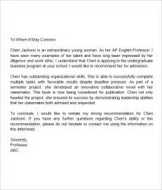 cover letter templates for students school reference letter for student cover letter templates