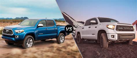 toyota tacoma vs tundra buy a toyota tundra autos post
