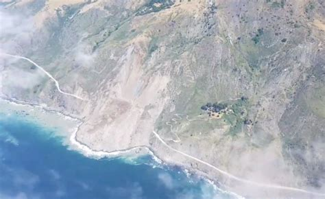 Landslide On Pch - big sur landslide covers stretch of pacific coast highway 10news com kgtv tv san diego