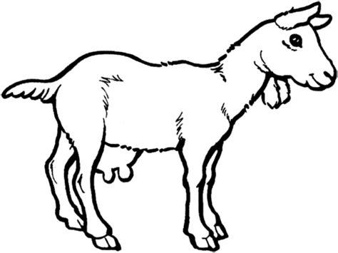 Nanny Goat Coloring Page | nanny goat coloring page super coloring