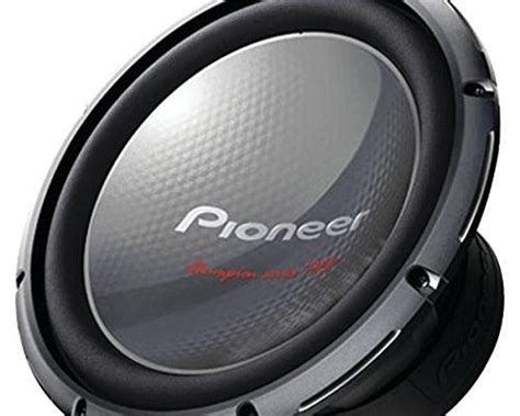 pioneer ts wd champion series pro subwoofer  dual