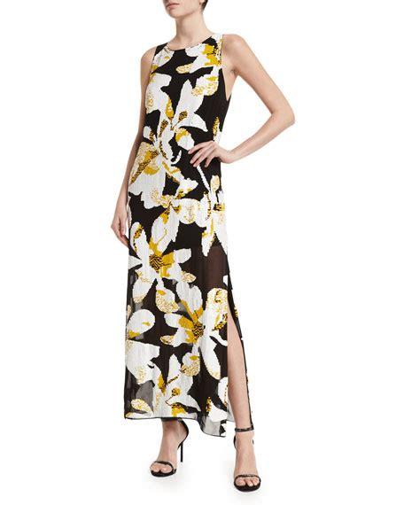 Lucia Maxy 2 Lucia Floral Maxi Dress Black Multicolor