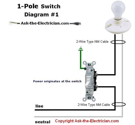 circuit single poles witch diagram lg light switch