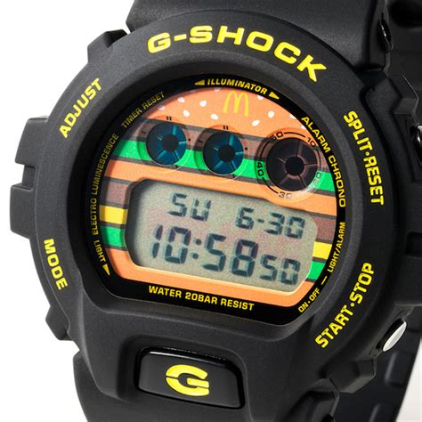 Jam G Shock Untuk Tangan Kecil g shock x mcdonald berkolaborasi hasilkan jam tangan limited edition untuk ulang tahun ke 50 big mac