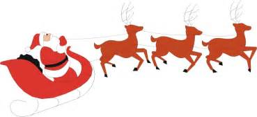 santa and reindeer pictures clipart best