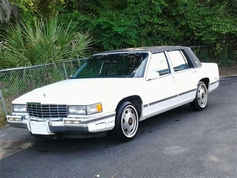 1993 cadillac sedan sell used 1993 cadillac base sedan in yemassee