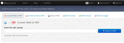convert pdf to word docs zone all in one web based document converter docs zone
