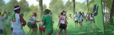 how to organize a color run how to organize a color run with the help of school a thon