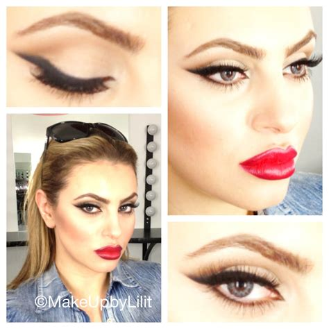 Chanel Lilit make up by lilit classic cat eye www makeupbylilit