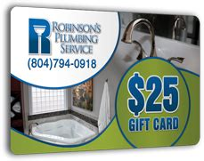 Robinsons Plumbing by Gift Card Robinson S Plumbing Service