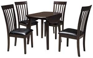 hammis piece dining set  drop leaf table set gill brothers furniture dining  piece set
