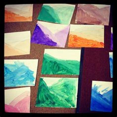 Landscape Lesson For Kindergarten Kindergarten Class χειμωνασ Winter Crafts