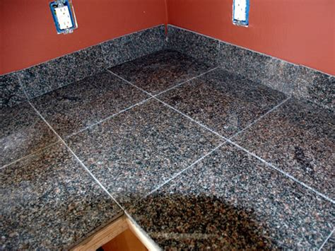Installing Granite Countertop by How To Install A Granite Tile Kitchen Countertop Review