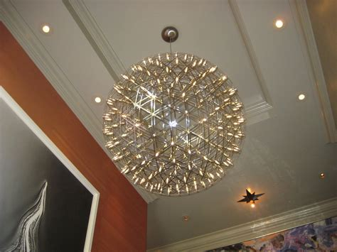 modern chandeliers with 4 lights pendant light crystal