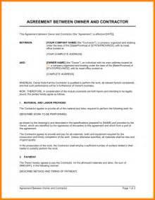 doc 585663 contract agreement between two parties