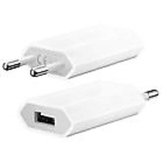 Apple Charger 1a Iphone 4 Iphone4s Iphone 3 Iphone3gs Ipod4 usb 5v 1a indian pin charger adapter for apple iphone 5 4s 4 3gs samsung in india shopclues