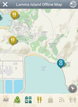 mobile app features offline map  save  data