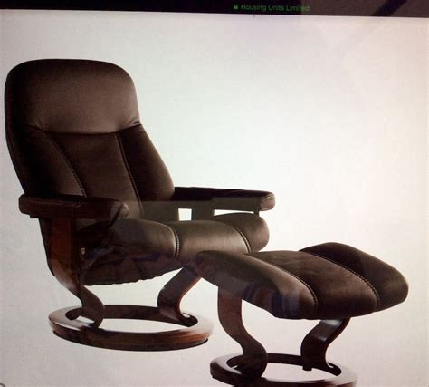 ekornes stressless recliner price reduced in
