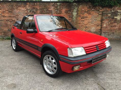 peugeot 209 for sale used 1994 peugeot 205 cti cabriolet for sale in surrey