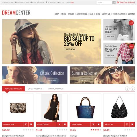changing themes bigcommerce dreamcenter bigcommerce theme themes psdcenter com