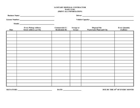 search for safety book report driver daily log sheet template business forms