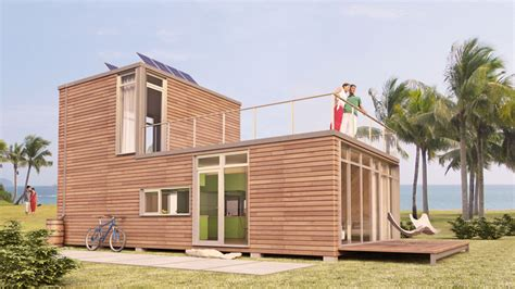 Prefab Cottages Florida by Shipping Container Homes October 2011