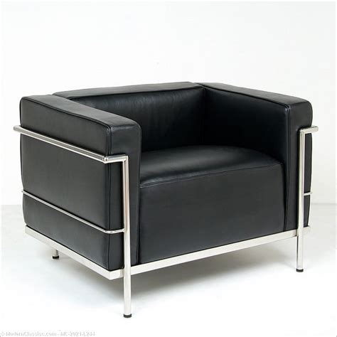 corbusier bench le corbusier lc 3 lounge chair black leather