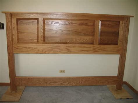King Size Wood Headboard King Size Wood Headboard Iemg Info