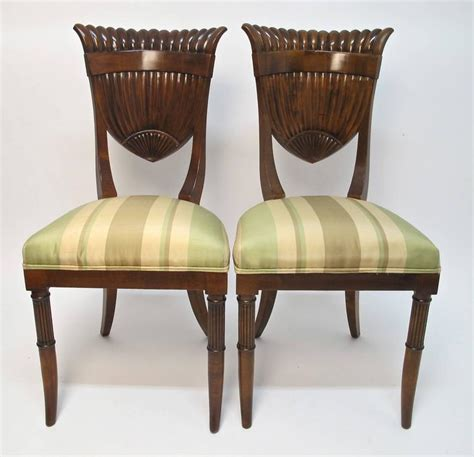 Italian Style Dining Chairs Italian Biedermeier Style Chairs For Sale At 1stdibs