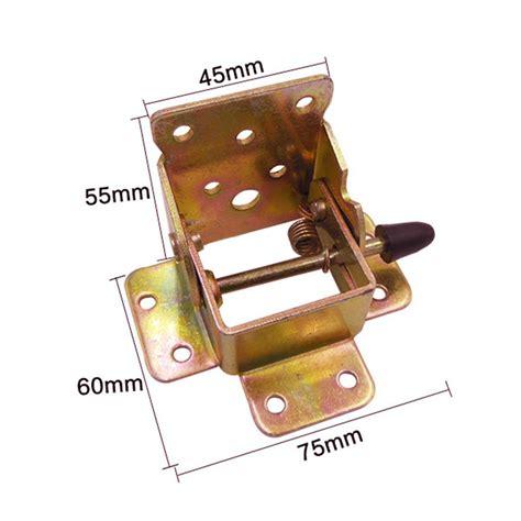 folding table hinge bracket 4pcs set iron locking folding bracket folding table leg