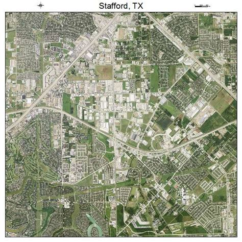 stafford texas map aerial photography map of stafford tx texas