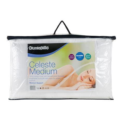 Dunlopillo Pillow Medium Ergo Kid alami pillows dunlopillo celeste medium