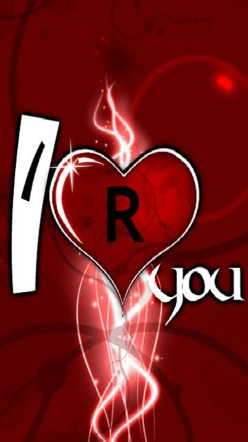 Download R Love N Wallpaper Gallery R Alphabet Love Wallpaper