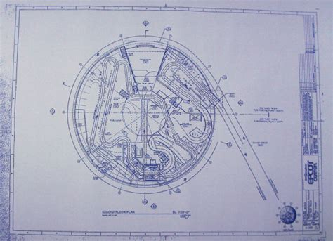 Mansion Floor Plans Castle walt disney world epcot test track second floor by